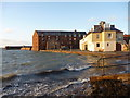 NT5585 : Coastal East Lothian : High Tide at North Berwick by Richard West