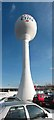TQ7966 : Tesco Extra water tower by Oast House Archive