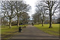 NJ9206 : Main promenade, Victoria Park, Aberdeen by Bill Harrison