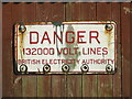 TL8536 : Old Sign by Keith Evans