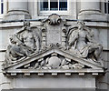 SO9198 : National Westminster Bank (detail), Wolverhampton by Roger  Kidd