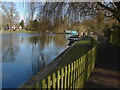 SU9973 : River Thames, Runnymede by Alan Hunt