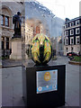 TQ2980 : Obsidian Egg, near Trafalgar Square, London SW1 by Christine Matthews