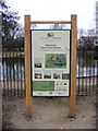 TQ4886 : Valence House Museum sign by Adrian Cable