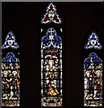 TQ4778 : St Michael &amp; All Saints, Abbey Wood Road, Abbey Wood - Stained glass window by John Salmon