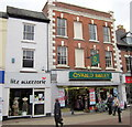 SO9570 : Bromsgrove High Street  (G)litz Accezzorie &amp; Oswald Bailey by Roy Hughes