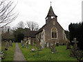 TQ2250 : St Mary the Virgin, Buckland by Stephen Craven