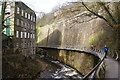 SJ9985 : Torr Vale Mill and the Millennium Walkway by Bill Boaden