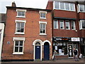 SO9670 : Bromsgrove High Street  Two Doors & Foto Factory by Roy Hughes