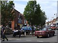 TF4066 : High Street, Spilsby - Panorama #2 of 2 by Dave Hitchborne