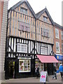 SO9670 : Bromsgrove High Street  Hoiti Toyti &amp; Mad About Sweetd by Roy Hughes