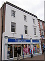 SO9570 : Bromsgrove High Street  W H Smith by Roy Hughes