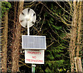 J3752 : Wind turbine and solar panel, Ballynahinch by Albert Bridge