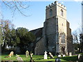 TL2464 : St Botolph's church, Graveley by David Purchase
