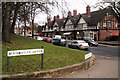 SP0481 : Bournville Green and shops on Sycamore Road by Phil Champion