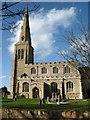 TL1671 : All Saints church, Ellington by David Purchase
