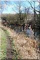 SK4681 : Chesterfield Canal near The Angel Norwood by John Jennings