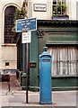 TQ3380 : Police box, London EC3 by Albert Bridge