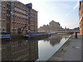 SO8218 : Barge Arm, Gloucester Docks by David Dixon