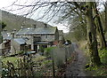 SK1773 : Ravensdale Cottages in Cressbrook Dale by Andrew Hill