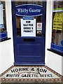 NZ8911 : Whitby Gazette, Bridge Street by Mike Kirby