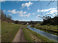 SK2164 : River Bradford downstream by Trevor Littlewood