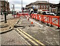 SJ9494 : Work on Clarendon Street by Gerald England