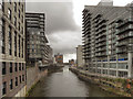 SJ8398 : River Irwell from Blackfriars Bridge by David Dixon