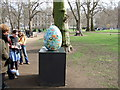 TQ2979 : Egg 32 in The Fabergé Big Egg Hunt by PAUL FARMER
