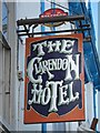 TR3752 : The Clarendon Hotel sign by Oast House Archive