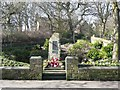 SE0318 : Rishworth War Memorial by Humphrey Bolton