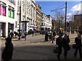 SJ8498 : Piccadilly, Manchester City Centre by Phil Champion