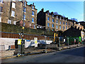 SD9927 : Building site on Foster Lane, Hebden Bridge by Phil Champion