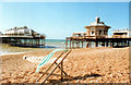 TQ3003 : Brighton West Pier When There Was Something Still Left to Save 1989 by Roy Hughes