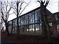 SJ8293 : 1950s extension at the former Chorlton Park Secondary School  by Phil Champion