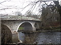 NO6995 : Upstream face of Bridge of Dee, Banchory by Stanley Howe