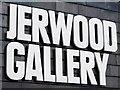 TQ8209 : Jerwood Gallery sign by Oast House Archive