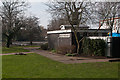 TQ4666 : Public Conveniences, Priory Gardens by Ian Capper