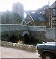 ST6163 : Pensford bridge, church and viaduct by Jo Turner