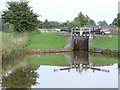 SJ7858 : Pierpoint Locks east of Hassall Green, Cheshire by Roger  Kidd