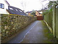SX8178 : Footpath, Bovey Tracey by Miss Steel