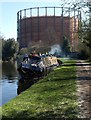 TQ2382 : Narrowboat, Grand Union Canal by Derek Harper