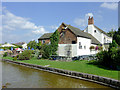 SJ8057 : The Broughton Arms at  Rode Heath, Cheshire by Roger  Kidd