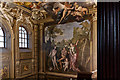 TQ2549 : Murals, Holbein Hall, Reigate Priory by Ian Capper