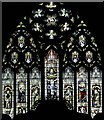 TL4502 : St John the Baptist, Epping - Stained glass window : Week 12