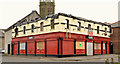 C8432 : Fire-damaged bar, Coleraine by Albert Bridge
