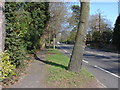 Dist:0.5km<br/>A view along Woodham Lane near its junction with Laurel Crescent.