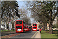 TQ1780 : Buses On Haven Green : Week 12