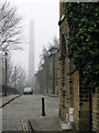 SE1338 : A misty March morning in Saltaire by John Sutton