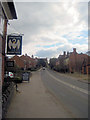 SP6801 : High street Tetsworth from The Swan by John Firth